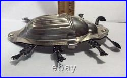 1930s Vintage Antique Chocolate Mold-Large June Bug Design-from Germany