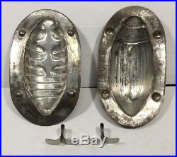 1930s Vintage Antique German Chocolate Mold-Small June Bug Design