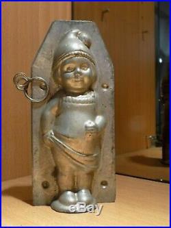 52910 Girl Walter. Gesetzl. Geschützt Chocolate Mold Molds Vintage Antique