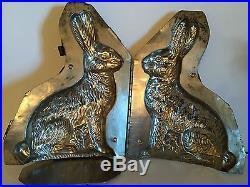 Antique Vintage Bunny Rabbit Chocolate Mold. 12 Tall. Huge