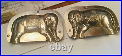 ANTIQUE VTG ELEPHANT CHOCOLATE MOLD From France #16160