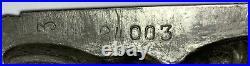 ANTON REICHE DRESSED RABBIT DUTCH BOY GERMAN TIN CHOCOLATE MOLD Antique Signed