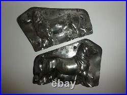 Antike Schokoladenform DACKEL antique chocolate mold DACHSHOUND WALTER # 2611