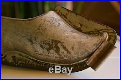 Antike Schokoladenform Gießform Schuh um 1900 antique chocolate mold
