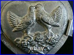 Antique 1934 Anton Reiche 6899 Heart Valentines Lovebird Box Chocolate Mold