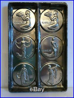 Antique ANTON REICHE TJOKLAT DANCERS Chocolate Mold. Famous Dutch Chocolate