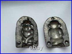 Antique Andre Reiche Chocolate Mold Monkey