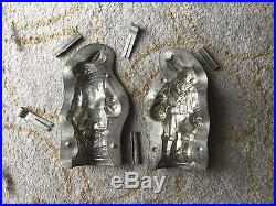 Antique Anton Reich Chocolate Mold Easter Bunny 14713