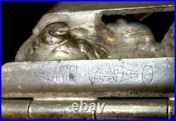 Antique Anton Reiche 6 Lion 26145 Hinged 11 Chocolate Mold Drgm Heidelberger