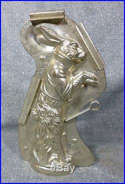 Antique Anton Reiche 6789 Mid Sized 8 Rabbit Chocolate Mold
