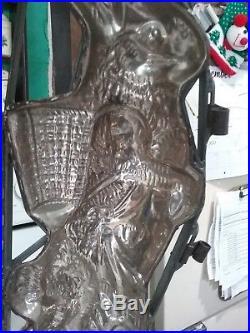 Antique Anton Reiche Chocolate Mold Same Design That Adorns Mullen Guide Huge 21