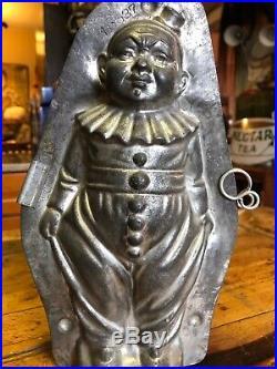 Antique Anton Reiche Clown Chocolate Mold 10