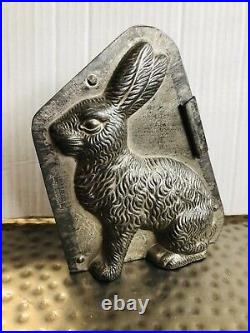 Antique Anton Reiche Dresden Classic Chocolate Easter Bunny 8 Mold