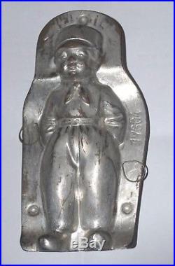 Antique Anton Reiche Dresden Tin Chocolate Mold Dutch Boy Boy Scout