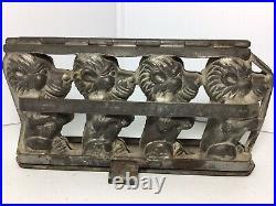 Antique Anton Reiche Vintage German Chocolate Mold Lion 9 1/4x5