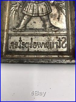 Antique Anton Reiche postcard chocolate mold Struwwelpeter Shock-headed Peter