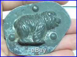 Antique Bear Tc Weygandt Co Made In New York USA Germany Chocolate Candy Mold