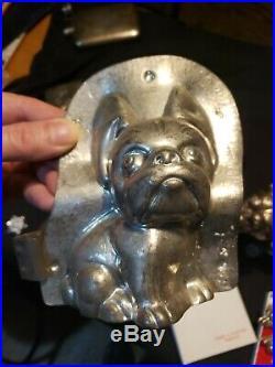 Antique Boston Terrier Anton Reiche Chocolate Mold