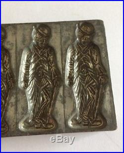 Antique Charlie Chaplin Heavy Metal Chocolate/Candy Mould
