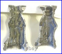 Antique Chocolate Candy Ice Cream Mold Uncle Sam, Thom Mills, PA. RARE No. 70