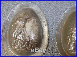 Antique Chocolate Mold 28 Easter Egg Anton Reiche + Letang Best Offer
