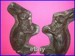 Antique Chocolate Mold ANTON REICHE RARE Nice Big Bunny