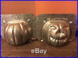 Antique Chocolate Mold Antique Halloween Eppelsheimer Jack O'Lantern # 7400
