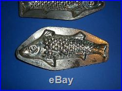Antique Chocolate Mold Candy Mold ANTON REICHE Fish Mold Metal Mold 10