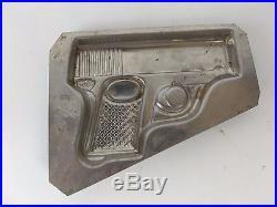 Antique Chocolate Mold GUN PISTOL #963 (30)