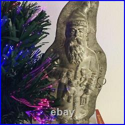 Antique Chocolate Mold German Kutzscher Santa Rare 14 inch Great Christmas Gift