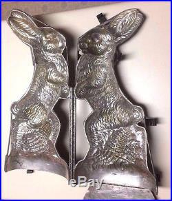 Antique Chocolate Mold Jumbo 21 Bunny