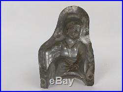 Antique Chocolate Mold OLD LADY Anton Reiche (31)