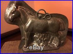 Antique Chocolate Mold RARE Anton Reiche Standing Horse # 8451