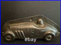 Antique Chocolate Mold Schokoladenform Anton Reiche Nr 28932 Race Car Rare