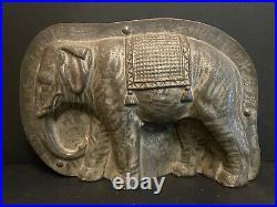 Antique Chocolate Mold Schokoladenform Anton Reiche Nr 8302 Elephant -rare Mold