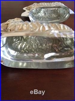 Antique Chocolate Molds Easter Lamb Large (10) & Medium (10)