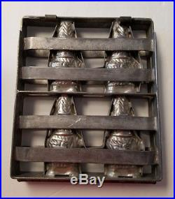 Antique Early Vintage Luden's Chocolate Mold Easter Bunny Rabbit Pre Hershey