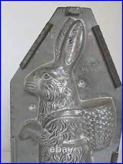 Antique Eppeisheimer Bunny Rabbit Chocolate Mold 18 tall