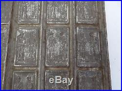 Antique Old Figural Military Navy World War I Era Soldiers Candy Mold Chocolate