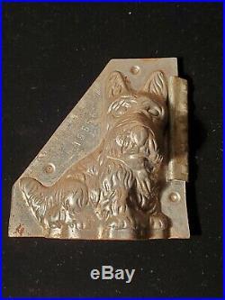 Antique Scottie Dog by Vormenfabriek #15556 Vintage Metal Candy/ chocolate Mold