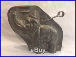 Antique Vintage Anton Reiche Dresden Dumbo The Elephant Chocolate Mold