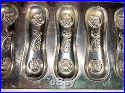 Antique Vintage CAT TONGUES CHOCOLATE MOLD. ADVERTISING VEN'S CANDY. 1920's