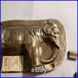 Antique Vintage ELEPHANT Chocolate Mold #5890 Anton Reich