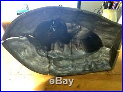 Antique Vintage MERMAID Chocolate Mold Very RARE And Large 13 tall HEAVY