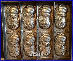 Antique Vintage Santa Claus Chocolate Mold