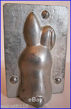 Antique Vintage TINY LITTLE BUNNY RABBIT Chocolate Mold. Made in GERMANY. WALTER