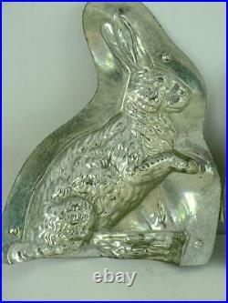 Anton Reiche 6842 Sitting Rabbit Basket Chocolate Mold Antique Vintage