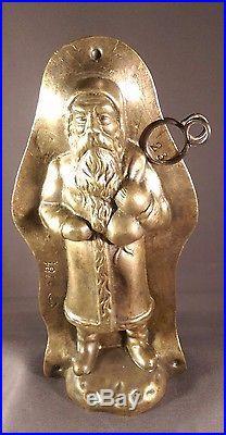 Anton Reiche Antique Chocolate mold Santa/ Father Christmas