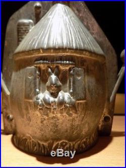 Anton Reiche Chocolate Mold Mould Egg Housse Molds Vintage Antique