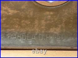 Anton Reiche Dresden Flat Chocolate Mold Mould Molds Vintage Antique M 164